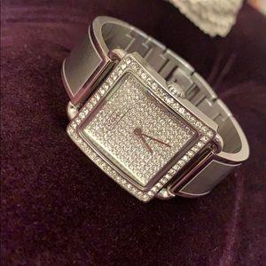 Coach Swarovski Crystal Bracelet Watch